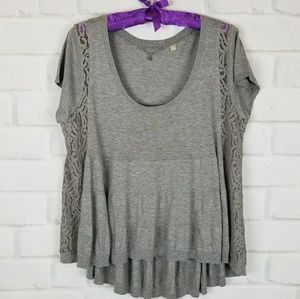 Anthropologie Knitted & Knotted Size M Top